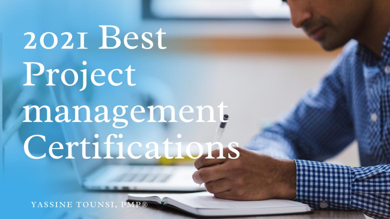 2021 Project Management Certifications