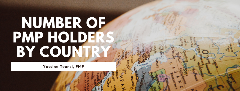 Number of PMP holders by country