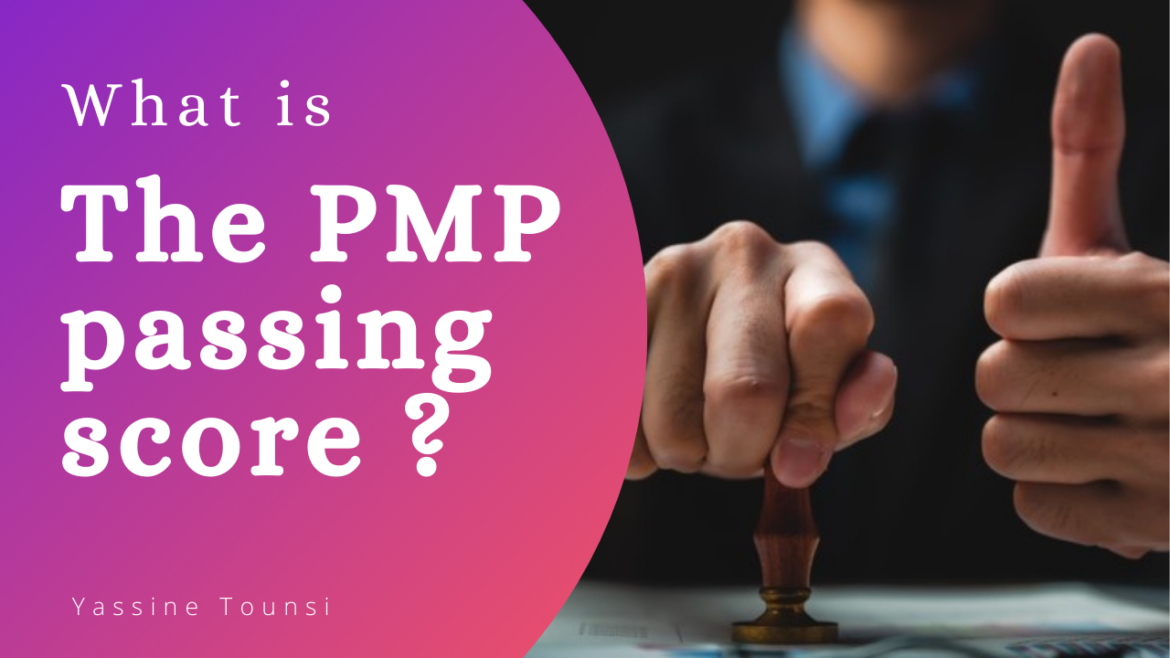 What is the PMP passing score