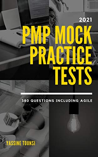 2021 PMP Mock Practice Tests book cover